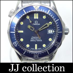 OMEGA メンズ腕時計 シーマスター300 ブルーベゼル|jjcollection2008