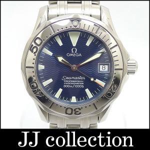 OMEGA メンズ腕時計 シーマスター プロフェッショナル ジャックマイヨール1999 SS 自動巻き ブラック文字盤 中古|jjcollection2008