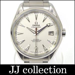 OMEGA オメガ メンズ腕時計 シーマスターアクアテラ コーアクシャル シルバータペストリー文字盤 Ref231.10.42.21.02.001 自動巻き|jjcollection2008