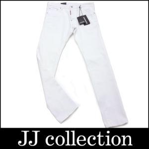 DSQUARED2 ディースクエアード デニム ジーンズ ホワイト S71LB0069/S39781/100 表記サイズ48|jjcollection2008