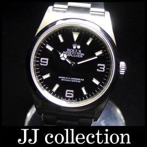 エクスプローラー1Ref.114270 Z番 ルーレット刻印自動巻き ブラック文字盤腕時計|jjcollection2008