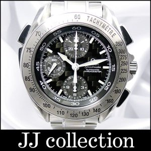 OMEGA オメガ スピードマスター スプリットセコンド クロノグラフ Ref.3540.50 自動巻き SS カーボン文字盤 メンズ腕時計|jjcollection2008