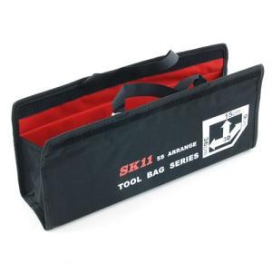 【用途】 工具などの分類整理。  【機能・特徴】 このバッグに工具などを分類収納し、ツールバッグなど...
