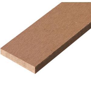 JJウッド006(人工木材)断面規格100×8mm色ブラウン1800mm|jjprohome1