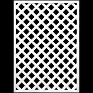 フェンス ラティス ホワイト格子ラティス1200×900mm|jjprohome1