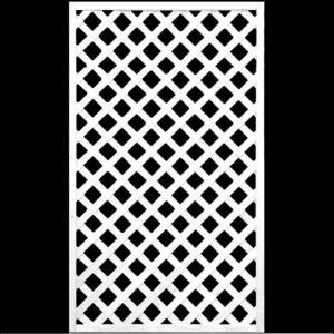 フェンス ラティス ホワイト格子ラティス1500×900mm|jjprohome1