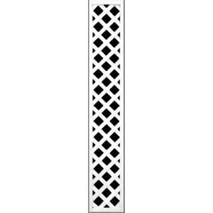 フェンス ラティス 訳ありホワイト格子ラティス1800×300mm|jjprohome1