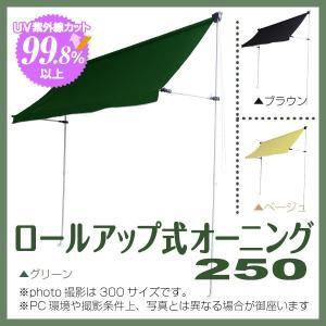日よけ シェード テラス ロールアップ式オーニング250 jjprohome1