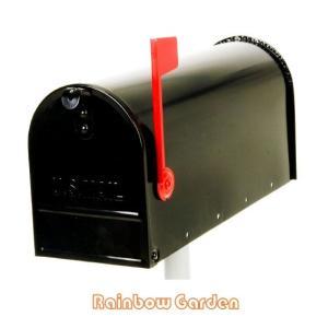 【代引き不可】【送料無料】 アメリカンメールボックス ブラック<RG-AMBX-BK>|ポスト|郵便受け||jjprohome1