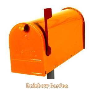 【代引き不可】【送料無料】 アメリカンメールボックス オレンジ<RG-AMBX-OG>|ポスト|郵便受け||jjprohome1
