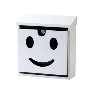 【代引き不可】【送料無料】 壁掛けポスト(ポストマン) ホワイト <SI-0003-WH-800> |ポスト|郵便受け||jjprohome1