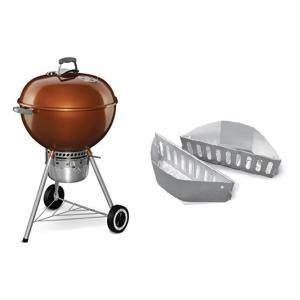 WEBER ウェーバー 銅 オリジナル ケトル プレミアム Original Kettle Premium Charcoal Grill 22  57cm  bbq グリル copper|jjshop