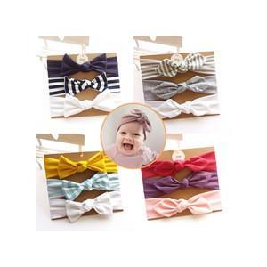 ベビー ヘアバンド 赤ちゃん へあバンド キッズ コットン リボン ヘアアクセサリー 髪飾り 髪留め カチューシャ 花 かわいい 出産祝いの画像