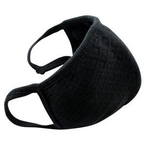 黒マスク・布マスク 1枚 黒マスク 綿 フリーサイズ 活性炭...