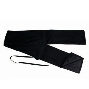 ソードケース カラー:黒色 素 材:綿製 サイズ: 約13×130cm  黒色(内側は黒色)の刀袋で...