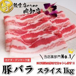 【原材料/原産国】豚バラ肉(デンマーク・カナダ産) 【内容量】1kg(袋詰め)※少量で保管したやすい...