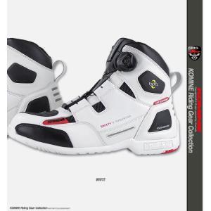 コミネ BK-077 ウォータープルーフプロテクトBoaライディングシューズ (トゥースライダー無し)  防水ブーツ KOMINE|jline|04