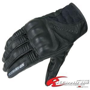コミネ GK-125 プロテクトレザーグローブ-スパディーノ KOMINE GK-125 Protect L-Gloves-SPADINO|jline