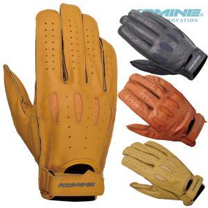 【ゆうパケット対応】コミネ GK-161 ヴィンテージショートレザーグローブ KOMINE 06-161 Vintage Short Leather Gloves|jline