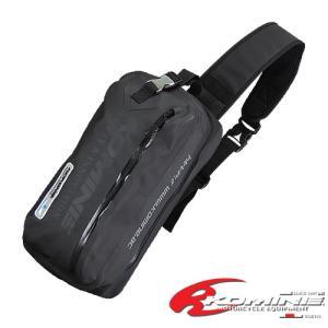 さっと背負える耐水仕様ワンショルダーバッグ。日常使いに適した8Lサイズ。防水性の高い止水ファスナーを...