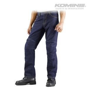 コミネ WJ-735R ケブラージーンズ-ディープインディゴ KOMINE 07-735R Kevlar Jeans-D/INDIGO|jline
