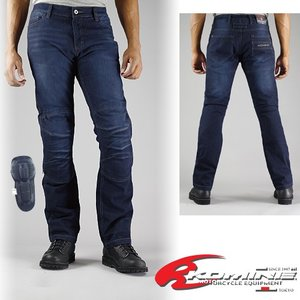 コミネ WJ-736R フルイヤーケブラージーンズ-ディープインディゴ KOMINE 07-736R F/Kevlar Jeans-D/INDIGO|jline