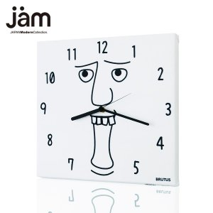 デザイナーズ 掛け時計GraphiClockBRUTUSデザイナーズ クロック インテリア雑貨 デザイン 掛時計 おしゃれ デザイン性豊かなファブリック壁掛け時計|jmc