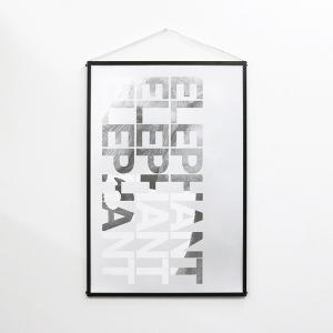 ポスター おしゃれ B2 アート インテリア 雑貨 ELEPHANT|jmc
