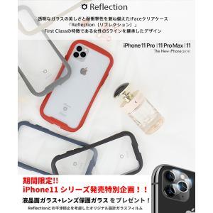 iPhone 11 Pro ケース 背面ガラス TPUバンパー iPhone 11 Pro Max ...