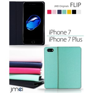 iPhone7/iPhone 7 Plus JMEIオリジナルフリップケース スマホケース スマート...
