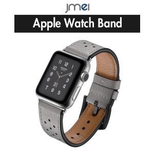 apple watch バンド Series 4 44mm 40mm 本革 42mm 38mm Series 1 2 3 4 対応 アップルウォッチ ベルト ブランド 金属クラスプ付き jmei