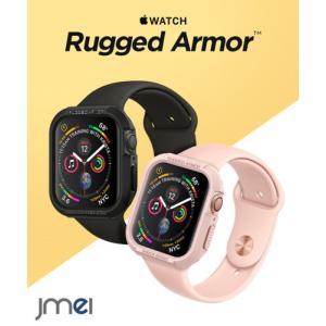 apple watch Series 4 5 カバー 44mm 40mm TPU 耐衝撃 シュピゲン...
