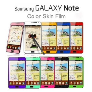 GALAXY NOTE GALAXY NOTE SC-05D 指紋防止カラースキンシート(フィルム) galaxy note ケース カバー/sc-05d galaxy note docomo