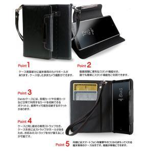 Galaxy Note8 ケース SC-01K SCV37 レザー 手帳型ケース スマホケース 全機種対応 samsung ギャラクシー ノート 8 カバー 手帳 ドコモ携帯カバー|jmei|03