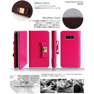 Galaxy Note8 ケース SC-01K SCV37 手帳型 本革 スマホケース リボン 手帳型ケース 手帳 スマホケース 全機種対応 samsung ギャラクシー ノート 8 かわいい|jmei|04
