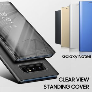 Galaxy Note8 ケース Samsung 純正 Clear View Standing Co...
