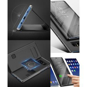 Galaxy Note8 ケース Samsung 純正 Clear View Standing Cover ギャラクシー ノート8 カバー サムスン ブランド sc-01k scv37 クリアビュースタンディング|jmei|06