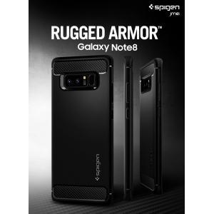 Galaxy Note8 ケース 耐衝撃 Spigen Rugged Armor samsung ギャラクシー ノート8 カバー サムスン ブランド TPU sc-01k scv37|jmei