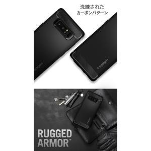 Galaxy Note8 ケース 耐衝撃 Spigen Rugged Armor samsung ギャラクシー ノート8 カバー サムスン ブランド TPU sc-01k scv37|jmei|02