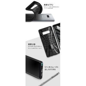 Galaxy Note8 ケース 耐衝撃 Spigen Rugged Armor samsung ギャラクシー ノート8 カバー サムスン ブランド TPU sc-01k scv37|jmei|03
