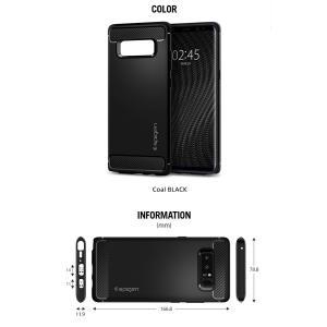Galaxy Note8 ケース 耐衝撃 Spigen Rugged Armor samsung ギャラクシー ノート8 カバー サムスン ブランド TPU sc-01k scv37|jmei|06