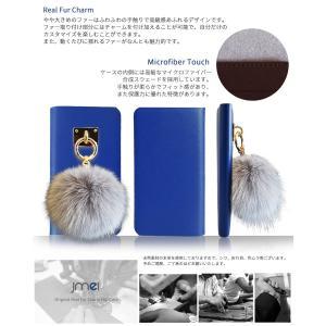 Galaxy S10 ケース S10 Plus S10+ ケース 手帳型 ファー スマホケース 本革 手帳型ケース 手帳 全機種対応 ギャラクシーs10 カバー かわいい|jmei|05