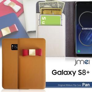 Galaxy S8 Plus ケース 本革 SC-03J SCV35 プラス + + 手帳型ケース サムスン リボン 手帳 スマホケース 全機種対応 samsung ギャラクシーs7 エッジ カバー jmei