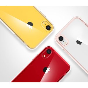 iPhone XR ケース 背面クリア シュピゲン ウルトラハイブリッド 耐衝撃 Spigen 米軍MIL規格取得 シンプル ガラスフィルム 360°保護 Ultra Hybrid tpu 衝撃吸収 jmei 08