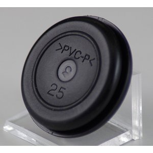 ゴムブッシング(25) 型番GB25 第二種電気工事士技能試験練習用材料 細田|jmn-denki
