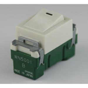埋込連用タンブラスイッチ 型番WN5001 第二種電気工事士技能試験練習用材料 パナソニック|jmn-denki