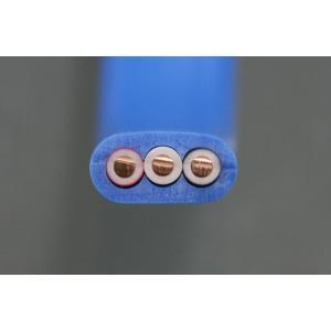 VVF 2.0-3C (黒・白・赤) 青色 1m  電気工事士技能試験練習用材料|jmn-denki