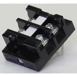 端子台 50A2P 型番T30C02 春日電機 第一種電気工事士技能試験練習用材料|jmn-denki