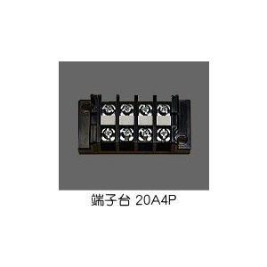 端子台 20A4P 型番T1004 春日電機 第一種電気工事士技能試験練習用材料|jmn-denki