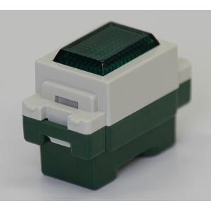 埋込連用パイロットランプ 緑色 型番WN3031GK パナソニック 第一種電気工事士技能試験練習用材料|jmn-denki